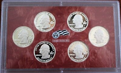 U.S. Mint 2009 Silver Proof Set DC and US Territories Quarters