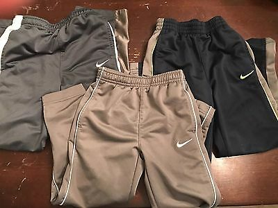 Boys Nike Pants Size 4 - 6 Tricot / Therma Fit Fleese Lot of 3