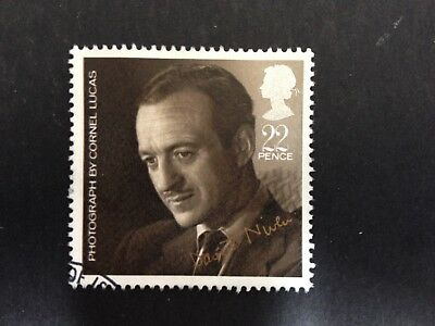 Gb 1985 Sg1299 British Film Year 22P David Niven By Cornell Lucas - Used