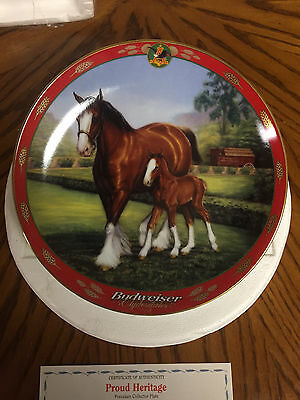 SUSIE MORTON Pride Of Budweiser Clydesdale,Proud Heritage Plate # A-7779