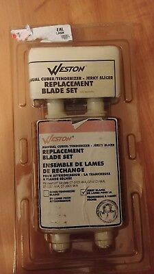 Weston 07-3302-W Jerky Blade Set for Meat Cuber / Tenderizers - Brand New!