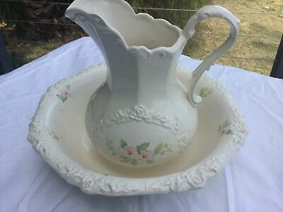 Wash Jug And Basin Set - reproduction