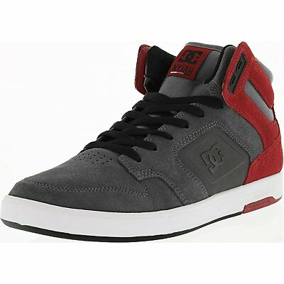 Dc Men's Nyjah High Se Mid-Top Suede Skateboarding Shoe