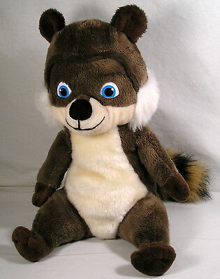 RJ Raccoon Stuffed Plush by Kohls Cares Over-The-Hedge Movie by Dreamworks