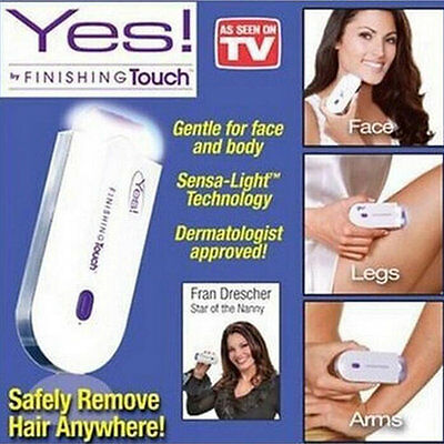 Hot Women's Fashion Instant Pain Free Hair Remover Laser Hair Removal Tools QS