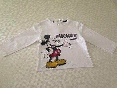 T-shirt Disney Mickey Taille 12 Mois