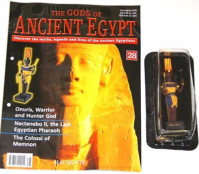 Hachette The Gods of Ancient Egypt - Issue 28 - Onuris - Warrior and Hunter God