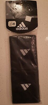Adidas Wristband 2 Pack Black