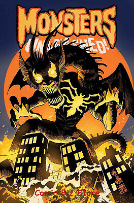 Monsters Unleashed #6 (2017) 1St Print Venomized Fin Fang Foom Variant Marvel