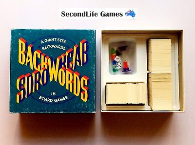 (Vintage) BACKWORDS ~ John Sands (1988). COMPLETE. SecondLife Games.
