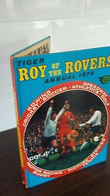 Roy of  the  Rovers  Annual  1974 in lovely  condition
