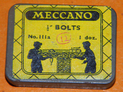 Small Meccano tins for small parts