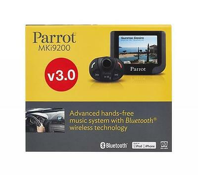 """Parrot MKI9200 V3 Bluetooth Hands Free Color Car Cell Phone kit w/ 2.4"""" display"""