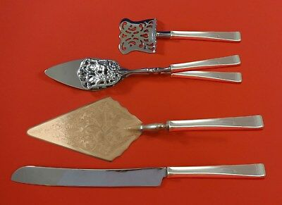 Theme by Gorham Sterling Silver Dessert Serving Set 4pc Custom Made