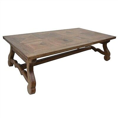 Parkham Solid Mango Wood Timber Coffee Table - 140 Cms.