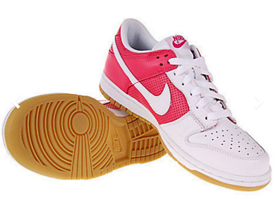 34a8143b7dc4 nike WMNS Nike Dunk Low WHITE FLAMINGO PINK US WOMENS SHOE SIZES 308608-111