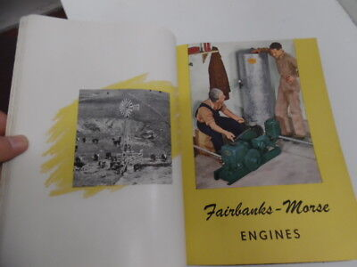 1948 Fairbanks Morse Dealer Line Catalog Windmill Z Engine Light Plants More BIG