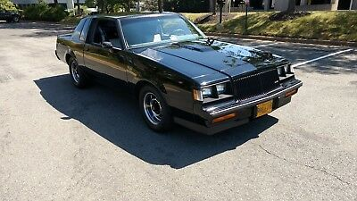 1987 Buick Regal Grand National Coupe 2-Door Only 1500 miles on Rebuilt Motor, Over 400 HP, Clean inside and out
