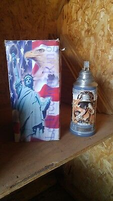New 1776 Evening Post Liberty Bell Let Freedom Ring Stein In Original Box