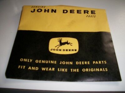 old vintage 1960's JD John Deere 14 farm transfers-stickers original envelope 30