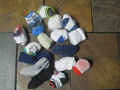 Boys 18 Month Sock Lot of 16 Pairs Dress and Casual