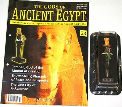 Hachette Gods Of Ancient Egypt - Issue 33 - Tatenen - God Of Mound Of Creation