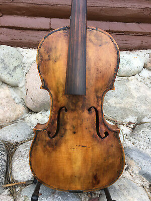 Rough Violin For Parts or Decoration  Days Only