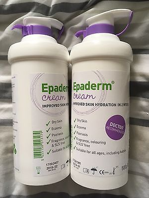 Epaderm Cream 1000g  Brand New