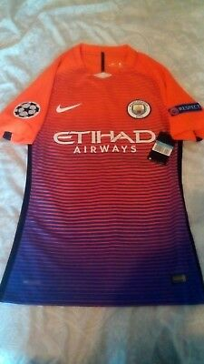 Manchester City Player Issue UCL shirt BNWT