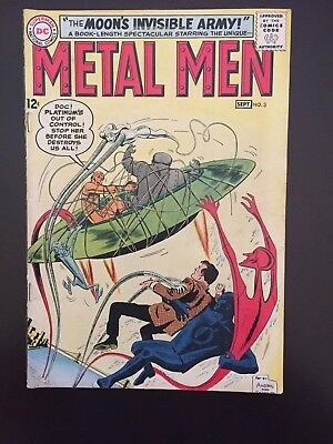 Metal Men #3 - The Moon's Invisible Army!