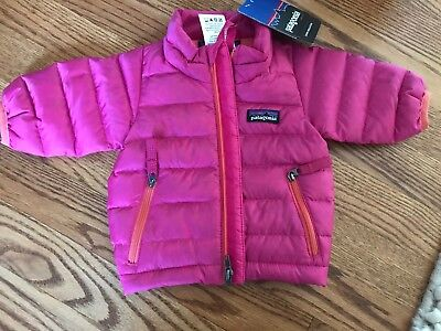 Patagonia Baby Winter Coat Down Sweater 0-12 Months