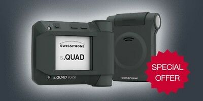 Swissphone s.Quad Voice - * VHF * Single Channel Fire Pager - Free Programming!