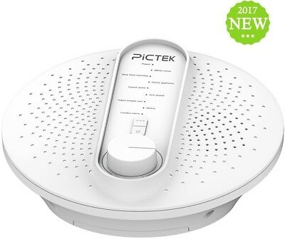White Noise Machine, Pictek Sleep Therapy Sound Machine, 24 Natural Soothing Or