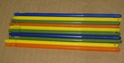 assorted colour plastic fishing disgorgers - standard size