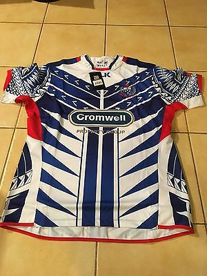 Samoan Rugby Union Replica Players Jersey 2015