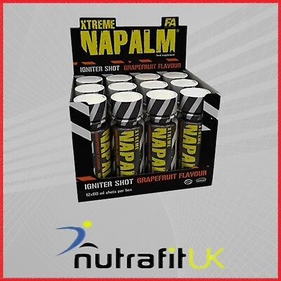 Fa Fitness Authority Xtreme Napalm Igniter Shot Pre-Workout