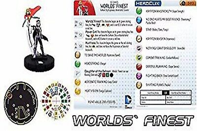 Marvel HeroClix DC WORLDS' FINEST #D-013 CONVENTION EXCLUSIVE LE by WizKids
