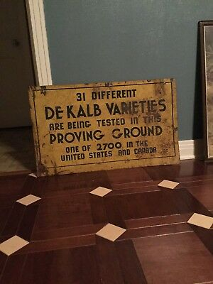 Dekalb Seed Metal Sign