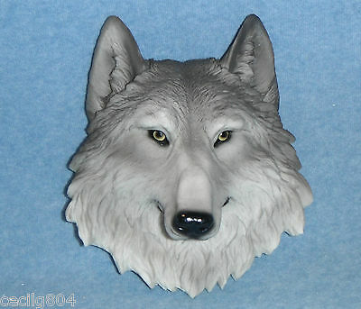 Animal Spirit Totems Wall Hanging Wolf Bust Figurine