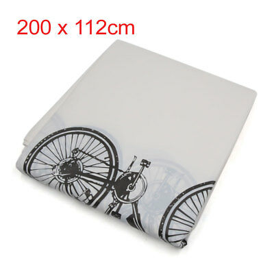 Waterproof Bike Bicycle Rain Cover Dust Garage Outdoor Scooter Protector White
