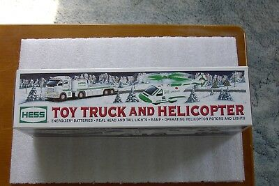 Hess Toy Truck and Helicopter 2006 NIB $9.99!!