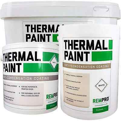 Rempro Thermal Paint Anti Mould & Condensation Insulating with Glass Bubble Tech