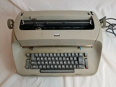IBM Selectric I Tan Typewriter Vintage Electric