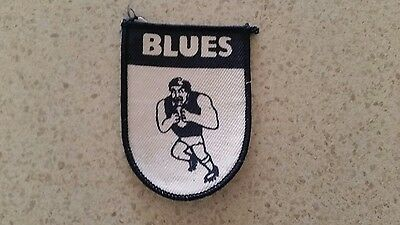 Carlton blues  1980 patch badge AFL VFL australian football footy