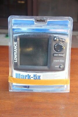 Lowrance Mark-5x Fish Finder - Head Unit only - Never Used