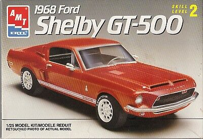 1/25 AMT  68 Shelby GT - 500 Coupe model kit