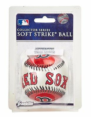 Franklin MLB Team Soft Strike® Baseballs - Boston Red Sox - Baseball