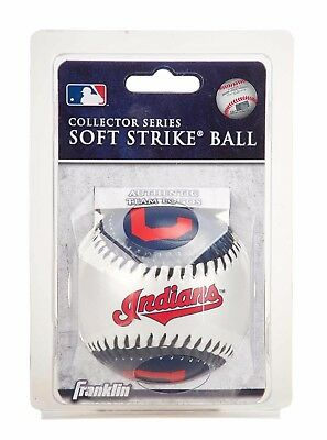 Franklin MLB Team Soft Strike® Baseballs - Cleveland Indians - Baseball