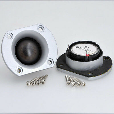 2pcs 25core Silk film speaker 6ohm 15W Loudspeaker Car audio modification