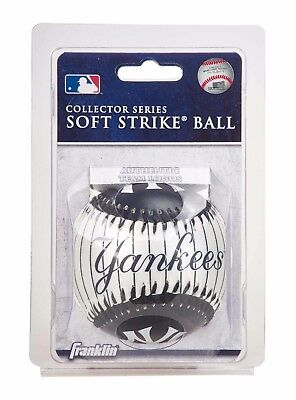 Franklin MLB Team Soft Strike® Baseballs - New York Yankees - Baseball